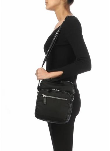 Valentino Messenger / Askılı Çanta Siyah